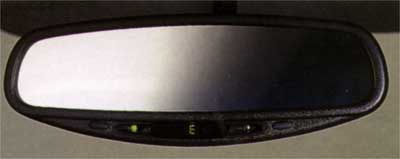 2001 Subaru Forester Auto-dimming Mirror/Compass H5010LS000