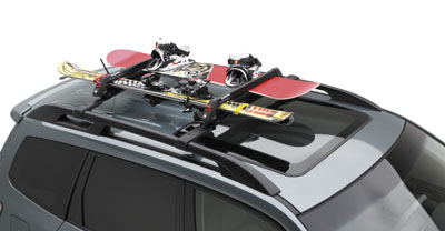 2008 Subaru Forester Ski and Snowboard Attachment