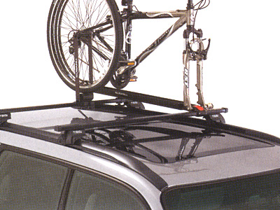 2010 Subaru Forester Fork-Mounted Bike Carrier