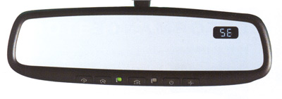 2006 Subaru Outback Sport Auto-Dimming Mirror/Compass w/ Homelink