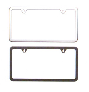 2008 Subaru Forester Slim Line License Plate Frames