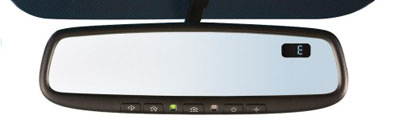 2009 Subaru Tribeca Auto-Dimming Mirror/Compass with Homeli H501SXA200