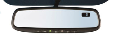 2009 Subaru Forester Auto-Dim Mirror w/Compass and Homelink