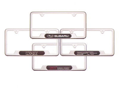 2014 Subaru Outback Polished Stainless Steel License Plate Frame