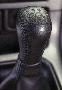 2006 Subaru Forester Leather Shift Knob