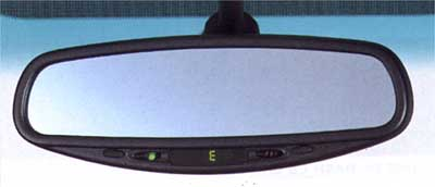 2012 Subaru Tribeca Auto-dimming Mirror/Compass H501SXA100