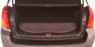 2008 Subaru Outback Retractable Luggage Compartment Cover