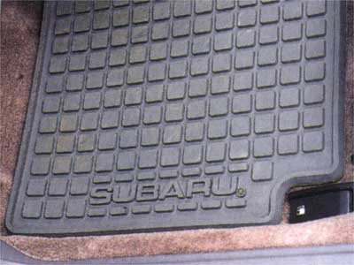 2009 Subaru Legacy All Weather Floor Mats J501SAG000