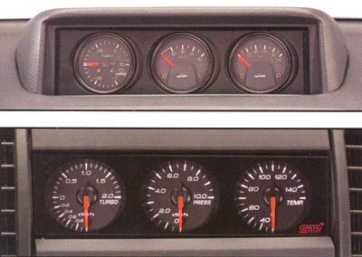 2000 Subaru Forester Performance Gauge Pack