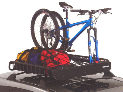 2006 Subaru Tribeca Fork-Mounted Bike Carrier