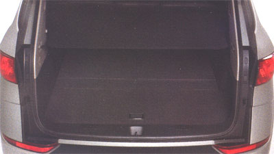 2008 Subaru Tribeca Luggage Compartment Cover