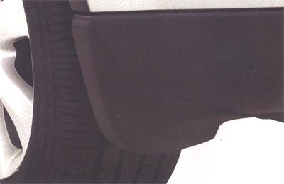 2008 Subaru Tribeca Splash Guards