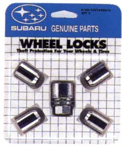 2009 Subaru Outback Wheel Locks T3010YS010