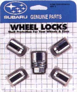 2004 Subaru Outback Sport Wheel Locks T3010YS010