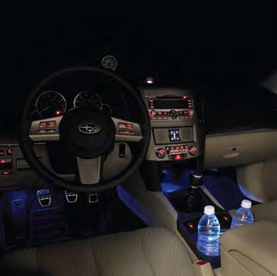 2011 Subaru Outback Interior Illumination Kit