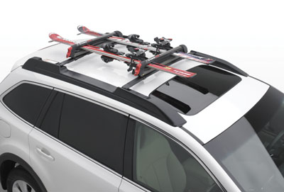 2011 Subaru Outback Ski and Snowboard Attachment