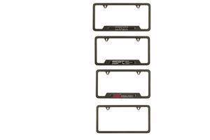 2015 subaru wrx license plate frame carbon fiber