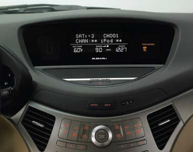2012 Subaru Tribeca iPod Interface Kit H621SXA200